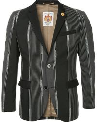 Education From Young Machines - Branding Stripes Tailored Blazer - Lyst