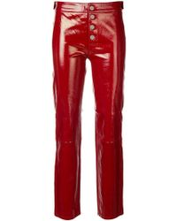 RTA - Straight Cropped Trousers - Lyst