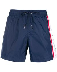 Dirk Bikkembergs - Side Stripe Swim Shorts - Lyst