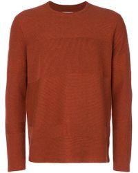 Folk - Fragment Crew Neck Sweater - Lyst