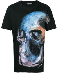 004bb09ce Givenchy Painted Madonna Print T-Shirt in Black for Men - Lyst