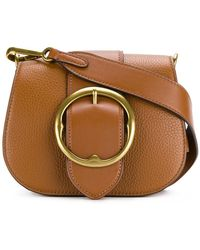 Polo Ralph Lauren - Buckle Strap Saddle Bag - Lyst