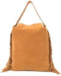 L'Autre Chose - Fringe Detail Shopping Bag - Lyst