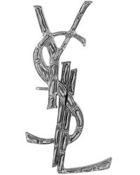 Saint Laurent   Signature Earrings   Lyst