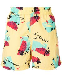 Carhartt - Printed Swim Shorts - Lyst
