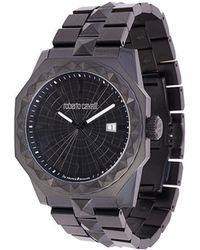 Roberto Cavalli - Studded Watch - Lyst