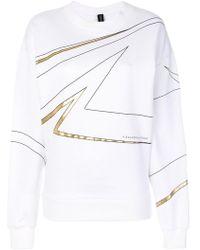 Alexandre Vauthier - Printed Sweatshirt - Lyst