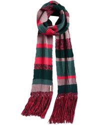 Burberry - Striped Scarf - Lyst