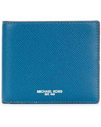 Michael Kors - Logo Print Wallet - Lyst