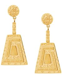 Lucy Folk - Immortal Drop Earrings - Lyst
