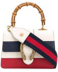 7fdc2c22d Gucci Dionysus Medium Top Handle Bag in Black - Lyst