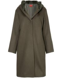 DES PRÉS - Hooded Winter Coat - Lyst