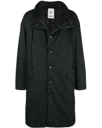 Lost and Found Rooms - Quilted Lining Coat - Lyst