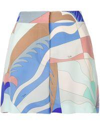 Emilio Pucci Acapulco Print Shorts