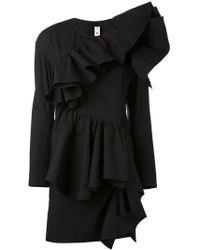 Marni - Ruffle Front Mini Dress - Lyst