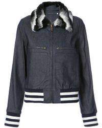 Harvey Faircloth - Collared Zip Jacket - Lyst