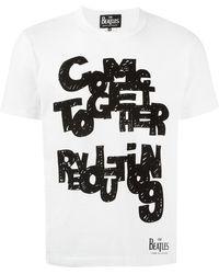 Comme des Garçons - Revolution Print T-shirt - Lyst