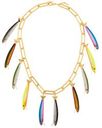Catalina D'anglade - Fish Charm Necklace - Lyst