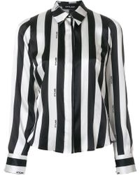 Styland - Striped Print Blouse - Lyst