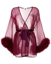 Gilda & Pearl - Sheer Night-gown - Lyst