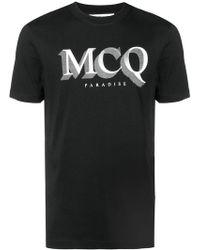 McQ - Paradise Logo T-shirt - Lyst
