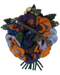 Jamin Puech | 3d Sequinned Floral Shoulder Bag | Lyst