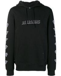Les Benjamins - Logo Print Hoodie - Lyst