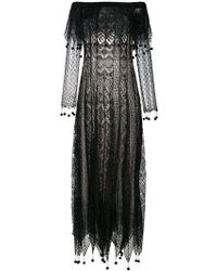 Alexander McQueen - Pom Pom Lace Dress - Lyst