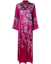 Josie Natori - Aurora Mandarin Kaftan Dress - Lyst
