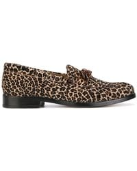 PS by Paul Smith - Leopard Print Loafers - Lyst