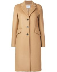 Dondup - Classic Single-breasted Coat - Lyst