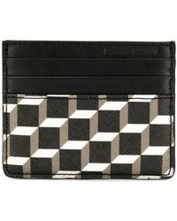 Pierre Hardy - Black Cube Perspective Card Holder - Lyst