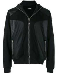 Les Hommes - Hooded Technical-style Jacket - Lyst