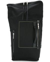 Rick Owens - Large Zip Around Backpack - Lyst
