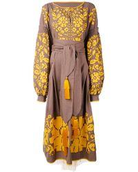 Yuliya Magdych - 'porcelain Bouquet' Dress - Lyst