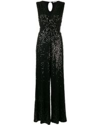 P.A.R.O.S.H. - Sequin Embellished Jumpsuit - Lyst