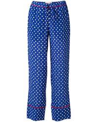 Marni - Scribble Print Pyjama Trousers - Lyst