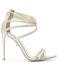 Le Silla - Glittered Sandals - Lyst
