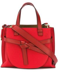 Loewe - Small Gate Top Handle Bag - Lyst