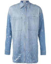 Faith Connexion - Long Jewel Embellished Shirt - Lyst