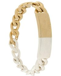 Maison Margiela - Two-tone Anonymous Bracelet - Lyst
