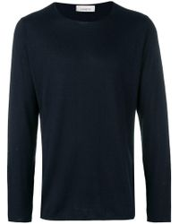 Laneus - Long-sleeve Fitted Sweater - Lyst