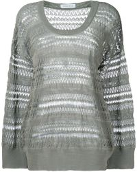 Christian Wijnants - Panelled Oversized Sweater - Lyst