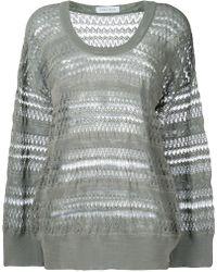 Christian Wijnants - Panelled Oversized Sweater - Lyst