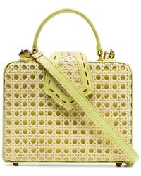 Mehry Mu - Lime Green Fey Small Leather Box Bag - Lyst