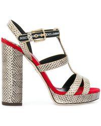 Keira sandals - Nude & Neutrals Dolce & Gabbana CfKXMo