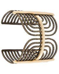 Lanvin - Antiqued Spiral Bracelet - Lyst