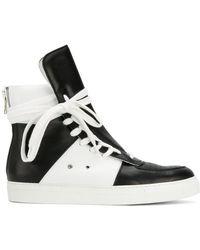 Kris Van Assche - Lace-up Hi-top Sneakers - Lyst