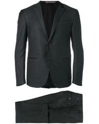 Corneliani - Anzug mit Micro-Muster - Lyst