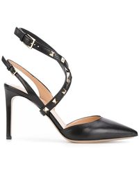 Valentino   Leather Pumps   Lyst